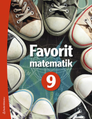 Favorit matematik 9 Elevpaket – Digitalt + Tryckt – Smakprov